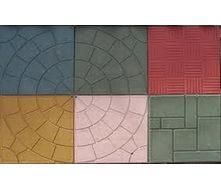 Тротуарная плитка Солнышко 25 мм