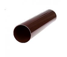 Труба водосточная Profil 75 мм 3 м коричневая