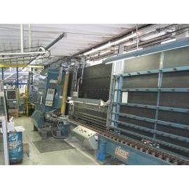 Стеклопакетная линия Lisec 1600 Х 2500 с газовым прессом 1994