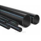 Пластиковая ПЕ труба для канализации диаметром 140 мм