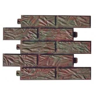 Полимерпесчаная фасадная плитка 320*340*25 мм