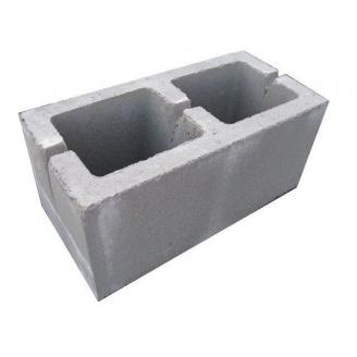 Шлакоблок стеновой 390x190x190 мм