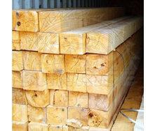 Брус сосновый SUNRISE Ltd 200х200 мм 1 м свежепиленный