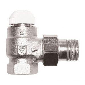 Термостатический клапан HERZ TS-Е угловой 1 дюйм (1772403)