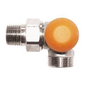 Термостатичний клапан HERZ TS-98-V триосьовий кутовий CD G 3/4xR 1/2 (1764667)