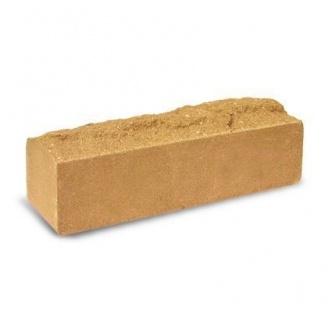 Облицовочный кирпич Литос Узкий Скала полнотелый 259*50*56 мм слоновая кость