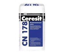 Выравнивающая смесь для пола Ceresit CN 178 25 кг