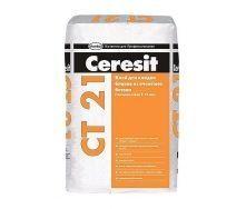 Смесь для укладки блоков бетона Ceresit CT 21 25 кг