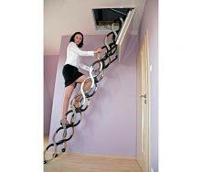 Чердачная лестница Oman Ножничная LUX 70x100 см