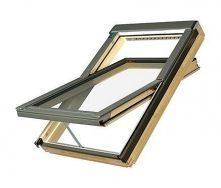 Мансардное окно FAKRO FTP-V U5 вращательное 78x118 см