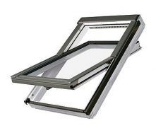 Мансардное окно FAKRO FTU-V U3 вращательное влагостойкое 94x118 см