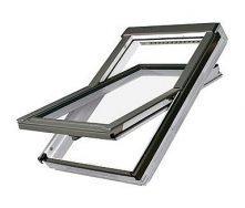 Мансардное окно FAKRO FTU-V U3 вращательное влагостойкое 94x140 см