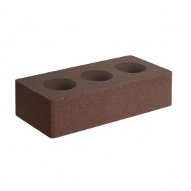 Цегла для огорож Фагот велика гладка 285х140х85 мм (коричневий (С))