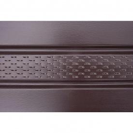 Панель софіт ASKO перфорована 3,5 м коричнева