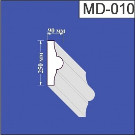 Молдинг из пенополистирола Валькирия 90х250 мм (MD 010)