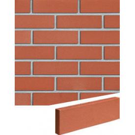 Облицювальна плитка Roben Melbourne 240*71*15 мм рифлена червона