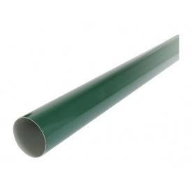 Труба водостічна з муфтою Nicoll 80 мм зелений