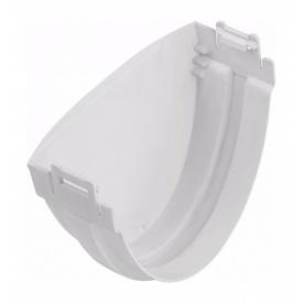 Заглушка ринви Альта-Профіль Стандарт 115 мм білий