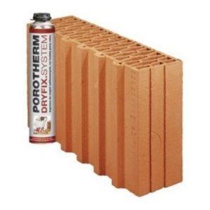 Керамічний блок Porotherm PTH 38 1/2 P+W Dryfix 380x124x249 мм