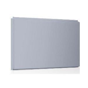 Фасадная кассета Ruukki Liberta original 102Grande 900*1100*2400 мм (RAL7040/серое окно )