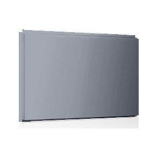 Фасадная кассета Ruukki Liberta original 102Grande 900*1100*2400 мм (RAL9006/белый алюминий)
