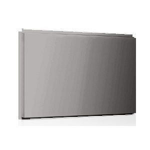 Фасадная кассета Ruukki Liberta original 102Grande 900*1100*2400 мм (RAL9007 Grey aluminium #8f8f8f)