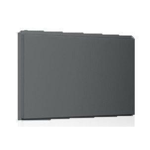 Фасадная кассета Ruukki Liberta original 102Grande 900*1100*2400 мм (RAL9023/перламутровый темно-серый)