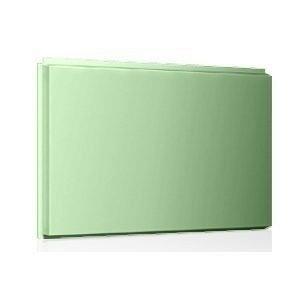 Фасадная кассета Ruukki Liberta original 102Grande 900*1100*2400 мм (RAL6021/бледно-зеленый)