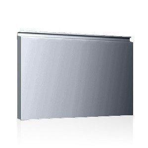 Фасадная кассета Ruukki Liberta elegant 500Grande 851*900*1800 мм (RAL9022/перламутровый светло-серый металлик)