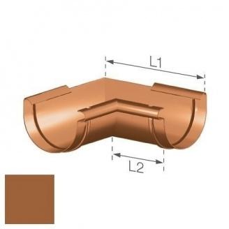 Внутрішній кут Gamrat 125 мм мідний