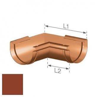 Внутрішній кут Gamrat 125 мм цегляний