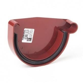 Заглушка ринви права Profil Р 130 мм червона