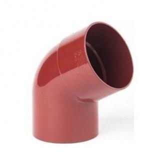 Коліно Profil 75 мм червоне