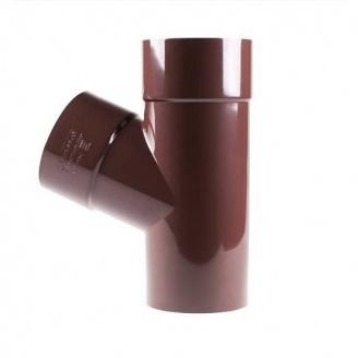 Трійник Profil 75/75/60 коричневий