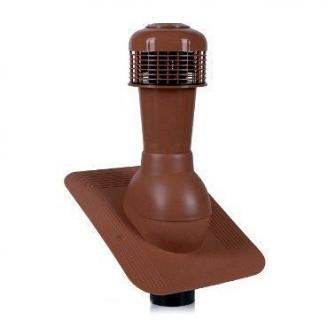 Вентиляционный выход Wirplast Standard К42-4 110*495 мм красный
