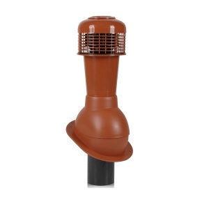 Вентиляционный выход Wirplast Normal К43-4 110*495 мм красный