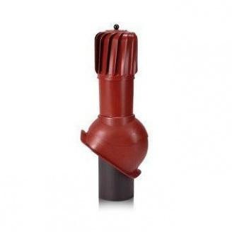 Вентиляционный выход Wirplast Turbo Perfekta ТР53-4 150*520 мм красный