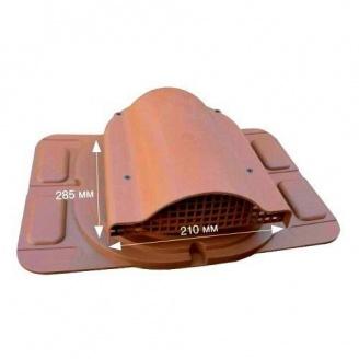 Вентилятор подкровельного пространства Wirplast Optimum К20-7 285*210 мм терракотовый