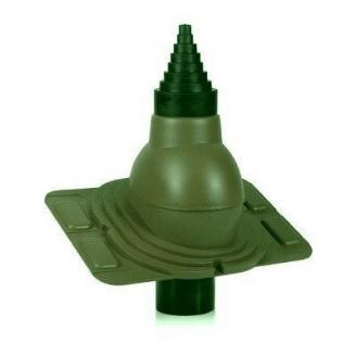 Антенный выход Wirplast Universal РА25-5 90 мм зеленый