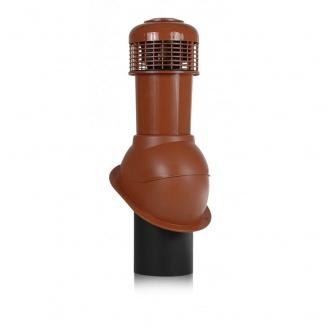 Вентиляционный выход Wirplast Normal К66-4 150*550 мм красный