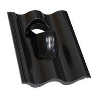 Проходной элемент Terran для сопряжения диффузионной мембраны 305х235 мм черный