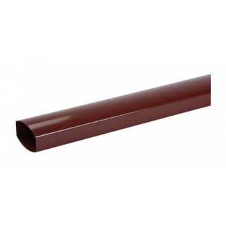 Труба водосточная Nicoll 28 OVATION 80 мм красный