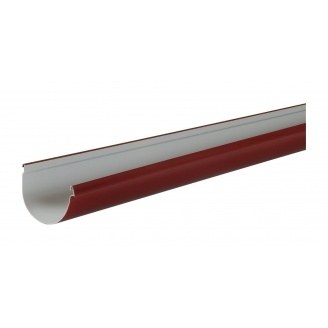 Ринва водостічна Nicoll 29 VODALIS 140 мм червоний