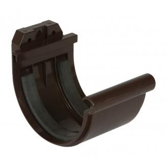 Муфта ринви Nicoll 25 ПРЕМІУМ на гумових ущільнювачах 115 мм коричневый