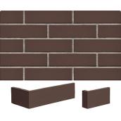 Клинкерная плитка King Klinker RF 65х250х10 мм коричневый