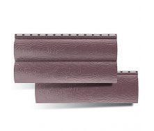 Сайдинг Альта-Профиль BlockHouse двухпереломный красно-коричневый