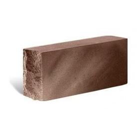 Облицювальна цегла Літос Тичкова повнотіла 230x120x65 мм шоколад
