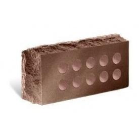 Облицювальна цегла Літос Скала тичкова пустотіла 230x100x65 мм шоколад