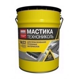 Мастика приклеивающая ТехноНИКОЛЬ №22 Вишера 20 кг