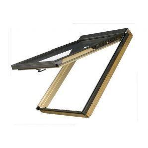 Мансардное окно FAKRO FPP-V U3 preSelect наклонно-вращательное 78x118 см